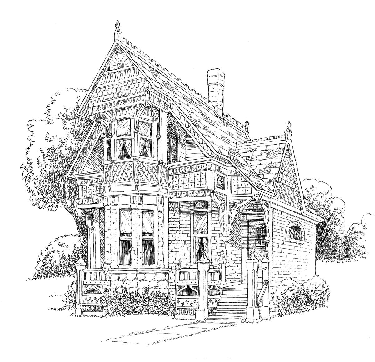 little street cafe scene coloring pages pinterest